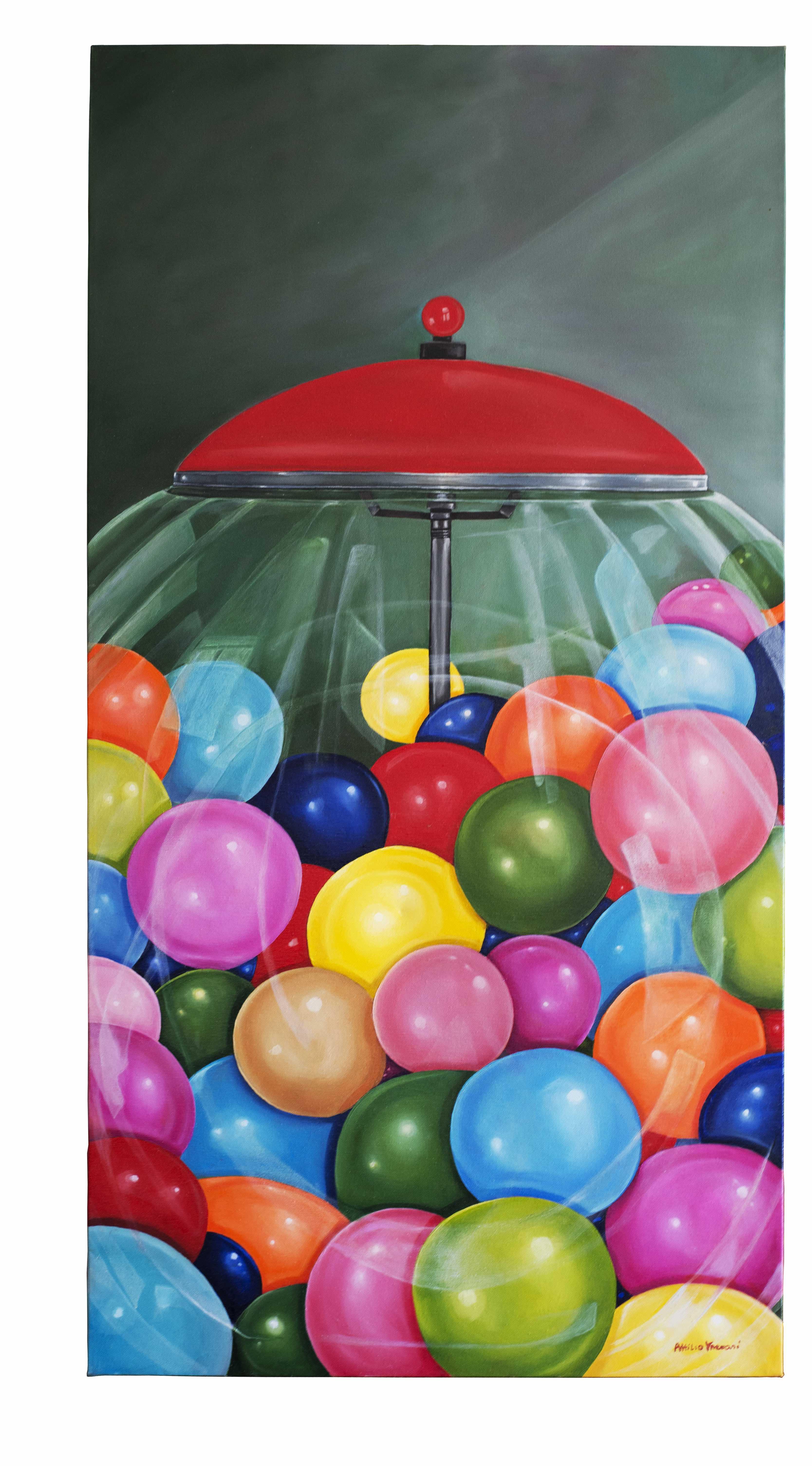 Bubble Gum 60 x 120 cm